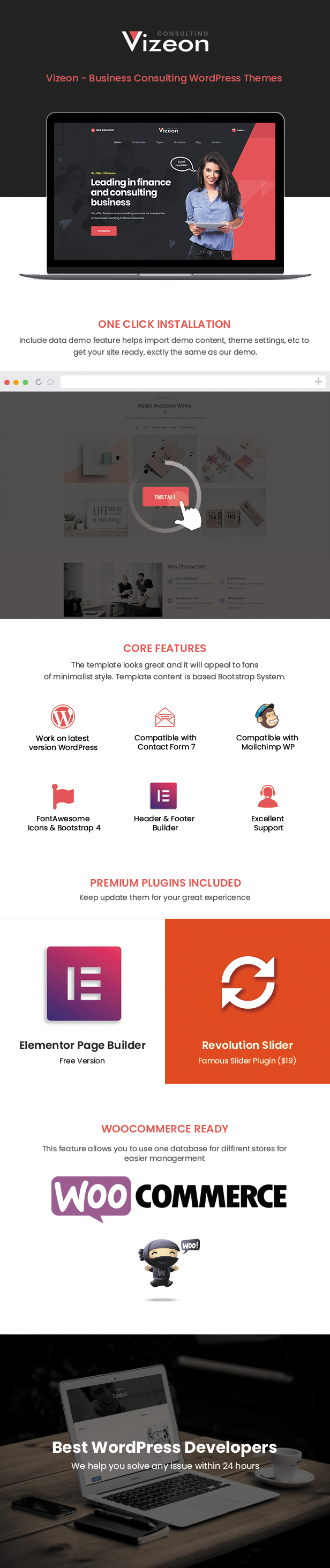 Vizeon WordPress Theme